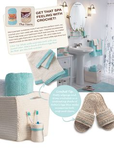 """**crochet basket**making with """"plarn"""", face cloth, slippers, and toothbrush holder"""