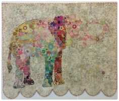 Lulu Collage Pattern by Laura Heine.