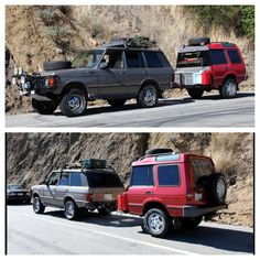 A man named Pierre took a perfectly good, functional Land Rover and cut it in half for a go-anywhere trailer! www.thesmokingtire.com