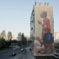 Etam Cru, street art, mural, mural art, urban art, graffiti, polish street artists