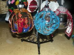 Blue Ornament Cover_Candles