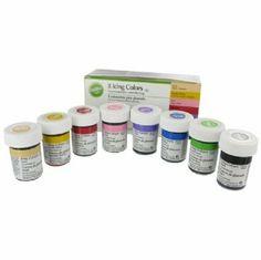 Kit 8 colori alimentari in gel Wilton di wilton, http://www.amazon.it/dp/B005UOG942/ref=cm_sw_r_pi_dp_AVEJsb00X3P5W