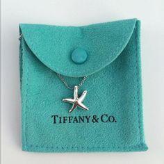 Tiffany & Co. Jewelry - Authentic Tiffany & Co. Starfish Necklace on Poshmark