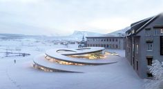 BIG Architects wins again with a striking proposal for Swiss luxury watchmaker Audemars Piguet. The new museum and workshop space, La Maison des Fondateurs, will be located beside the family-owned firm's headquarters in La Vallée de Joux, Switzerland. Designed to seamlessly connect existing structures with the surrounding valley's undulating fields, the spiraling helix structure boasts a small environmental impact and maximum aesthetic appeal.