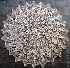 Салфетка-скатерть Вязание крючком