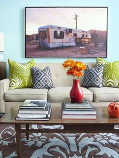 Contemporary Living Rooms from Joelle Nesen : Designers' Portfolio 6499 : Home & Garden Television