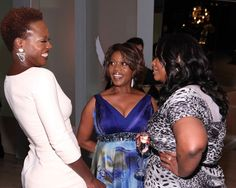 Octavia Spencer and Viola Davis shine at African-American Women in Film Pre-Oscar bash