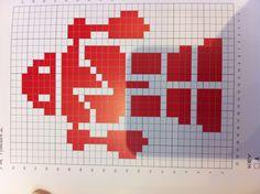Robot knitting chart