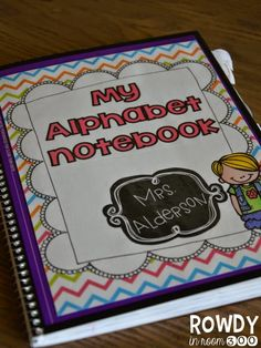 Interactive alphabet notebook- everything included and easy to use ALL year long!