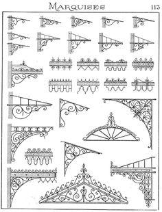 Grill design for Windows. Art Fer, Tor Design, Jugendstil Design, Grill Design, Iron Art, Iron Gates, Iron Decor, Welding Projects, Blacksmithing