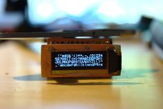 Search and play with OLED display
