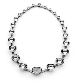 'Anitmatter' 2012 JAA Metal #Design #necklace by MDTdesign jeweller Rhys Turner