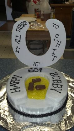 My husband's birthday cake! It is soooo him!