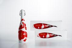 美しすぎる日本酒ボトル錦鯉グッドデザイン賞を受賞