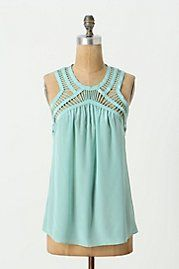 I love this top! Very pretty, feminine, flirty and I like the color!