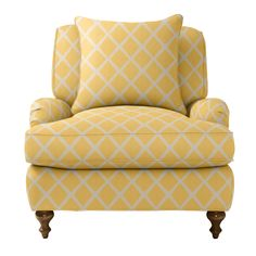 overstuffed chair. this would go nicely with my books.
