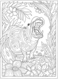 Welcome to Dover Publications Dover Coloring Pages, Adult Coloring Book Pages, Printable Adult Coloring Pages, Cute Coloring Pages, Animal Coloring Pages, Colouring Pages For Adults, Coloring Sheets, Digital Drawing, Creative Haven Coloring Books