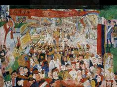 The magnificent world of James Ensor filmed in his house in Ostend