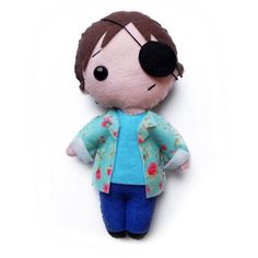 Items similar to Handmade felt Xander Harris doll // Buffy the Vampire Slayer on Etsy Buffy The Vampire Slayer, Handmade Felt, Felt Dolls, Fabric Crafts, Teddy Bear, Toys, Cute, Pattern, Animals