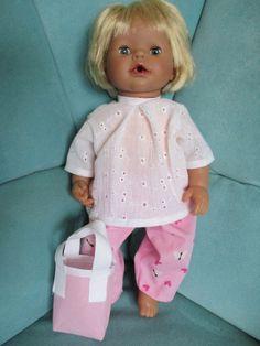 Neue Kleidung für die Puppe meiner süßen Enkelin!