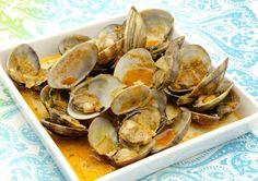 Productos do mar: ameixa roxa