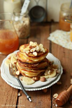Need to make these STAT #pancakes #breakfast