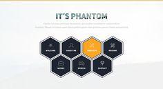Phantom-Resume/CV/Portfolio Template by Themefisher on @creativemarket