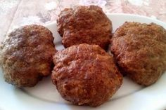 Greek Recipes, Diet Recipes, Cooking Recipes, Healthy Snacks, Muffin, Appetizers, Gluten Free, Beef, Breakfast