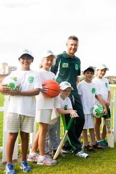 Former Australian Cricket Captain Michael Clarke teaches kids the importance of winning and losing. Learn more at frankihobson.com