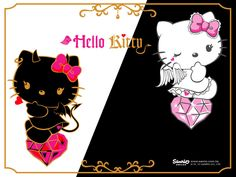 Hello Kitty Light and Dark Sides.....I love this the very best, so cute :)