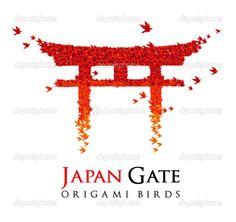 japanese torii vector - Google Search