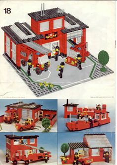 Rescue - Fire Station [Lego 6382]