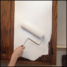 How To Paint Old Kitchen Cabinets