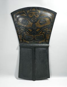 20th century Haida (First Nations) Copper shield at the Royal Ontario Museum, Toronto - Found via OMG that Artifact!