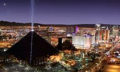 Luxor Hotel and Casino on Vegas Strip