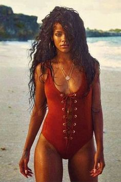 Who Better To Get Some Summer Inspiration From Than Island Princess, Rihanna.