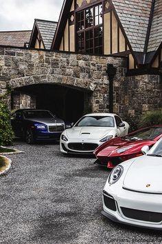 Porsche 911 GT3, Lamborghini Aventador LP700-4, Maserati…  #2017 #supercar