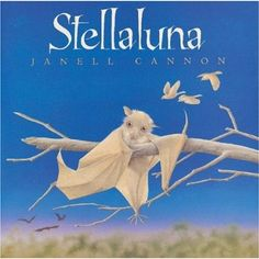 """They perched in silence for a long time. """"How can we be so different and feel so much alike?"""" mused Flitter. """"And how can we feel so different and be so much alike?"""" wondered Pip. """"I think this is quite a mystery,"""" Flap chirped. """"I agree,"""" said Stellaluna. """"But we're friends. And that's a fact.""""  <3 this book !"""