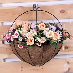 Set of 2 Pieces Food-grade Material Handmade Braiding WesCastle Fruit Basket,Decorative Storage Basket Coffee color
