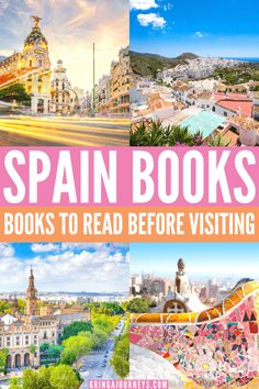Here are the best books on Spain! We'll cover novels, books about living in Spain, Spanish history, historical fiction, and the best Spain travel guides. #booksaboutspain #booksonspain #spanishhistory #novelsinspain #spanishbooks