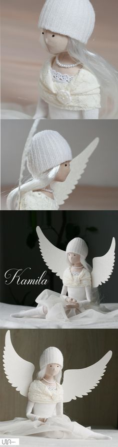 angel tilda doll tildas angeles handmade