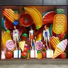 Store window displays, boutique window displays и merchandising displays. Boutique Window Displays, Window Display Retail, Retail Windows, Store Windows, Store Displays, Retail Displays, Summer Window Displays, Display Windows, Visual Merchandising Displays