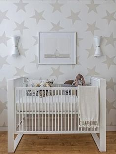 7 habitaciones de bebé con estrellas   Decoración Bebés y Habitaciones de Bebé