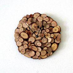 #Orologio in legno: quando è la #natura a scandire il tempo!