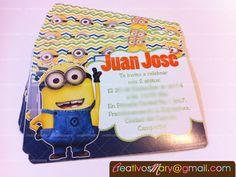 Invitaciones de mininos.   Maria Tamez  www.creativosmary.com creativosmary@gmail.com #Invitaciones #creativosmary