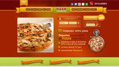 Création du site e-commerce Pizza-a-domicile.ch de vente en ligne de Pizza et de Produits alimentaires. Le site internet www.pizza-a-domicile.ch est réalisé par As you com (www.asyoucom.ch)