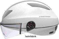 Lifestyle Fahrradhelm Pedelec-Helm Cratoni Evolution white-grey