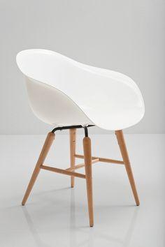 Rocking polyethylene armchair Bauhaus by KARE-DESIGN