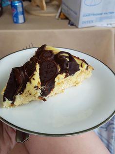 Keto Boston Cream Poke Cake #keto #recipes #lowcarb #cake #Boston