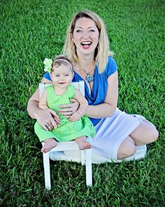 Mommy and 6 Month old laughing together! Pride in Photos Photography